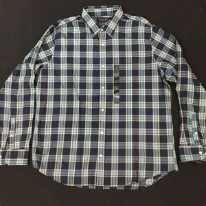 Banana Republic Lightweight flannel shirt XL NWT